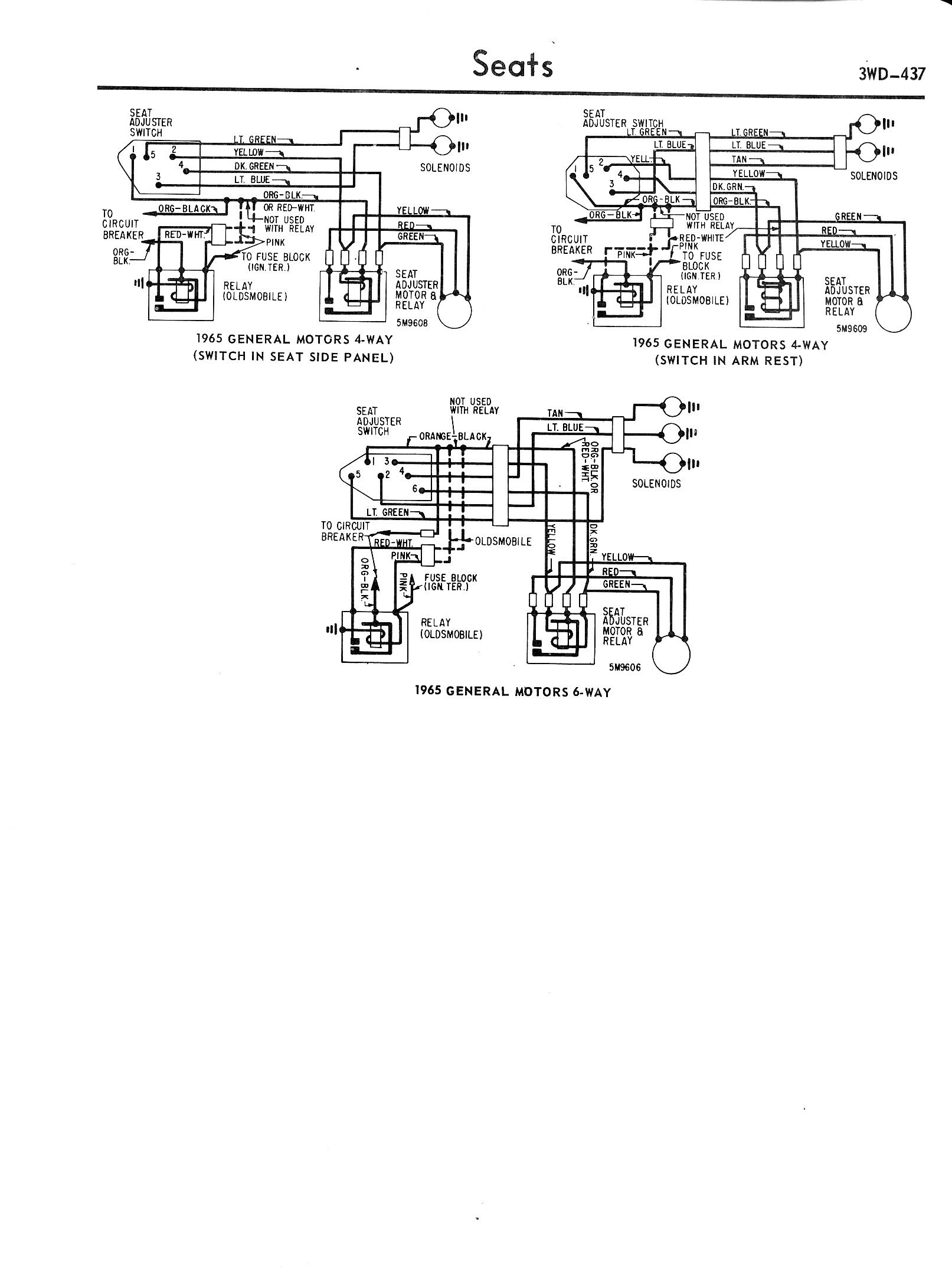 Chevy Diagrams General Electric Induction Motor Wiring Diagram D 57 64 Gm