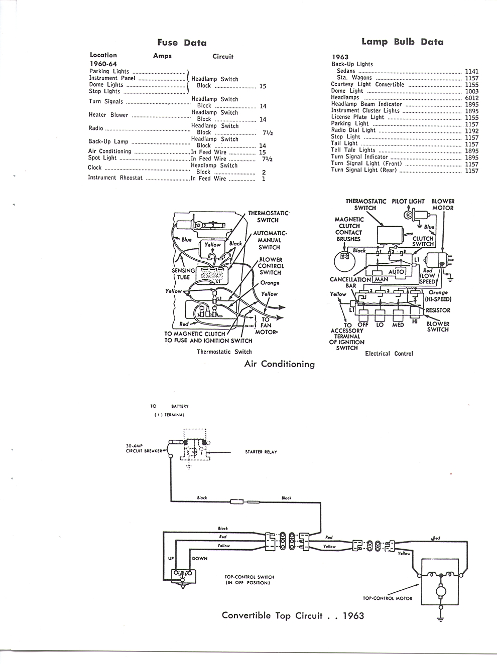 1964 ford galaxie headlight wiring diagram