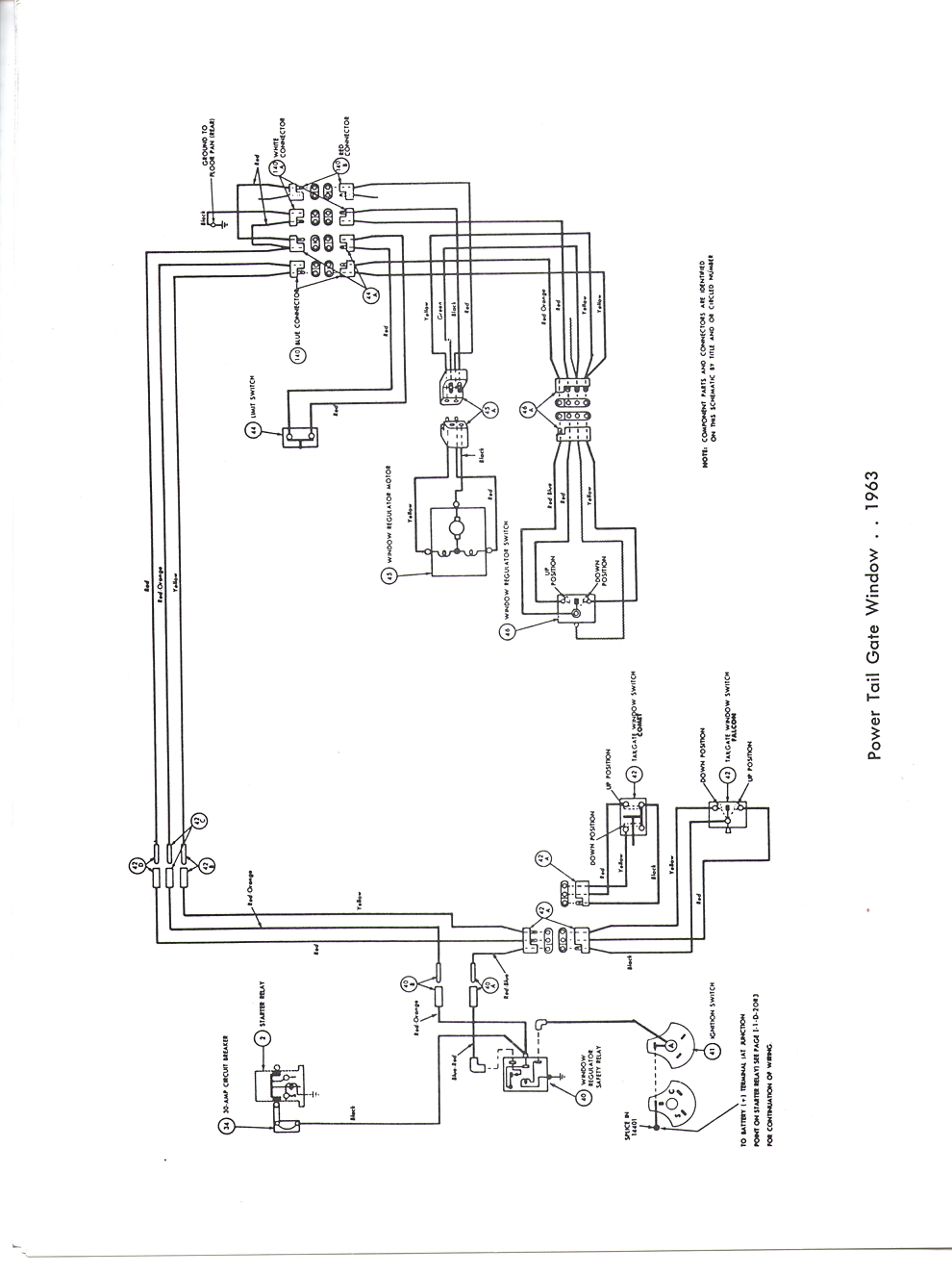 Falcon Diagrams 1968 Mercury Cyclone Wiring Diagram Schematic Comet Drawing A Complete For 1963 Figure 1 2 3