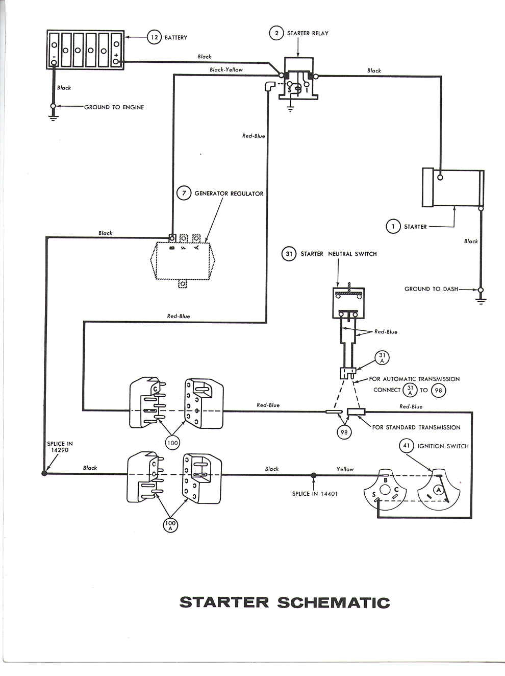Falcon Diagrams Ford External Regulator Wiring Diagram Figure 5