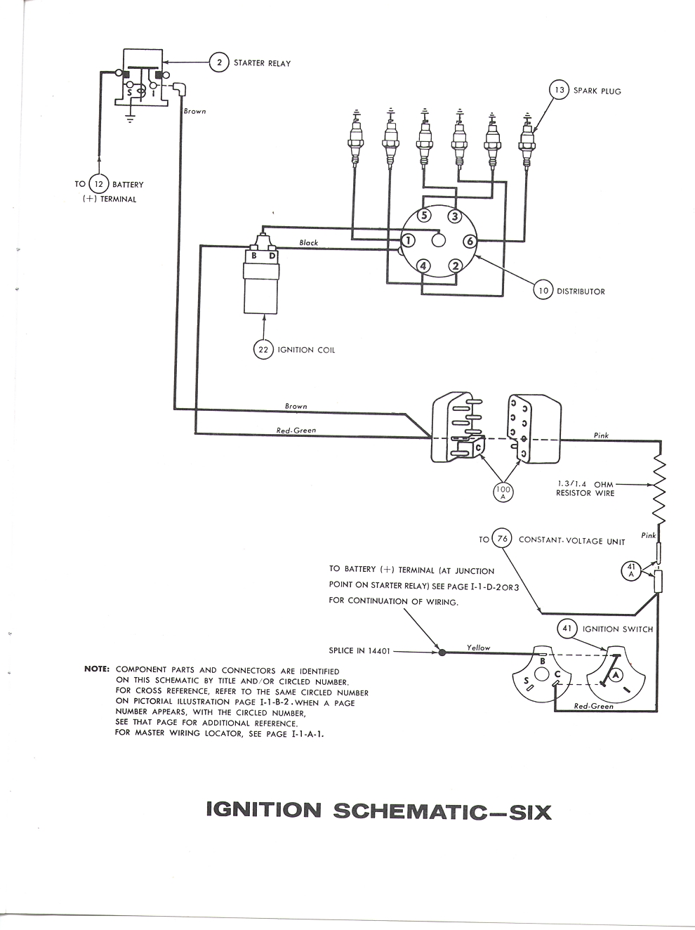 Falcon Diagrams 63 Wiring Diagram Lights Figure 5 6 7 8 1963 Single Speed Windshield Wiper Drawing A To 1964
