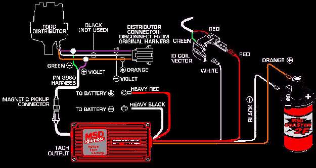 msd distributor wiring diagram wiring diagram and hernes msd 6al wiring diagram chevy hei wire msd wiring crank trigger and distributor