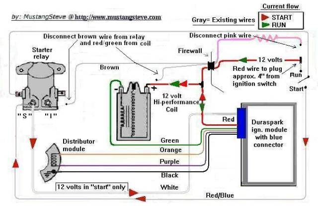 ford diagrams rh wiring wizard com duraspark 11 wiring diagram color coded duraspark 11 wiring diagram color coded