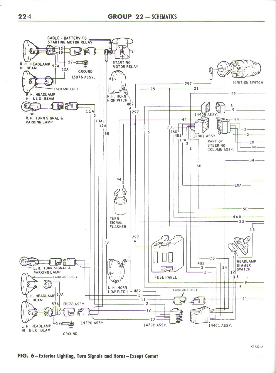 Falcon Diagrams 1968 Mercury Cyclone Wiring Diagram Schematic Here You Will Find Related To The Ford