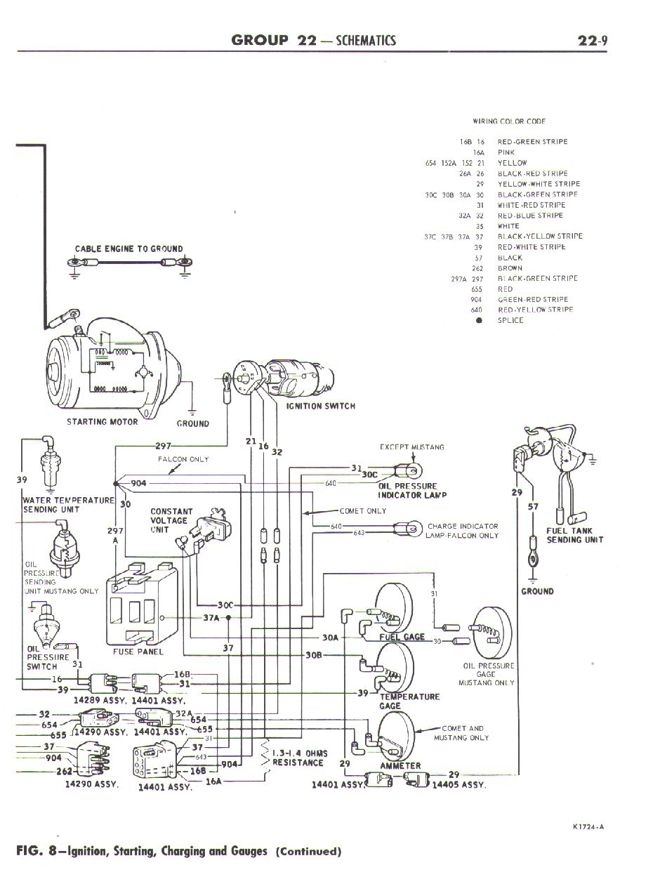 1967 ford falcon diagrams