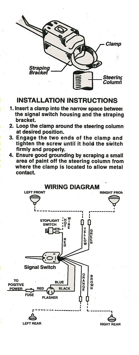 Other diagrams strap on turn signal switch drawing a asfbconference2016 Images