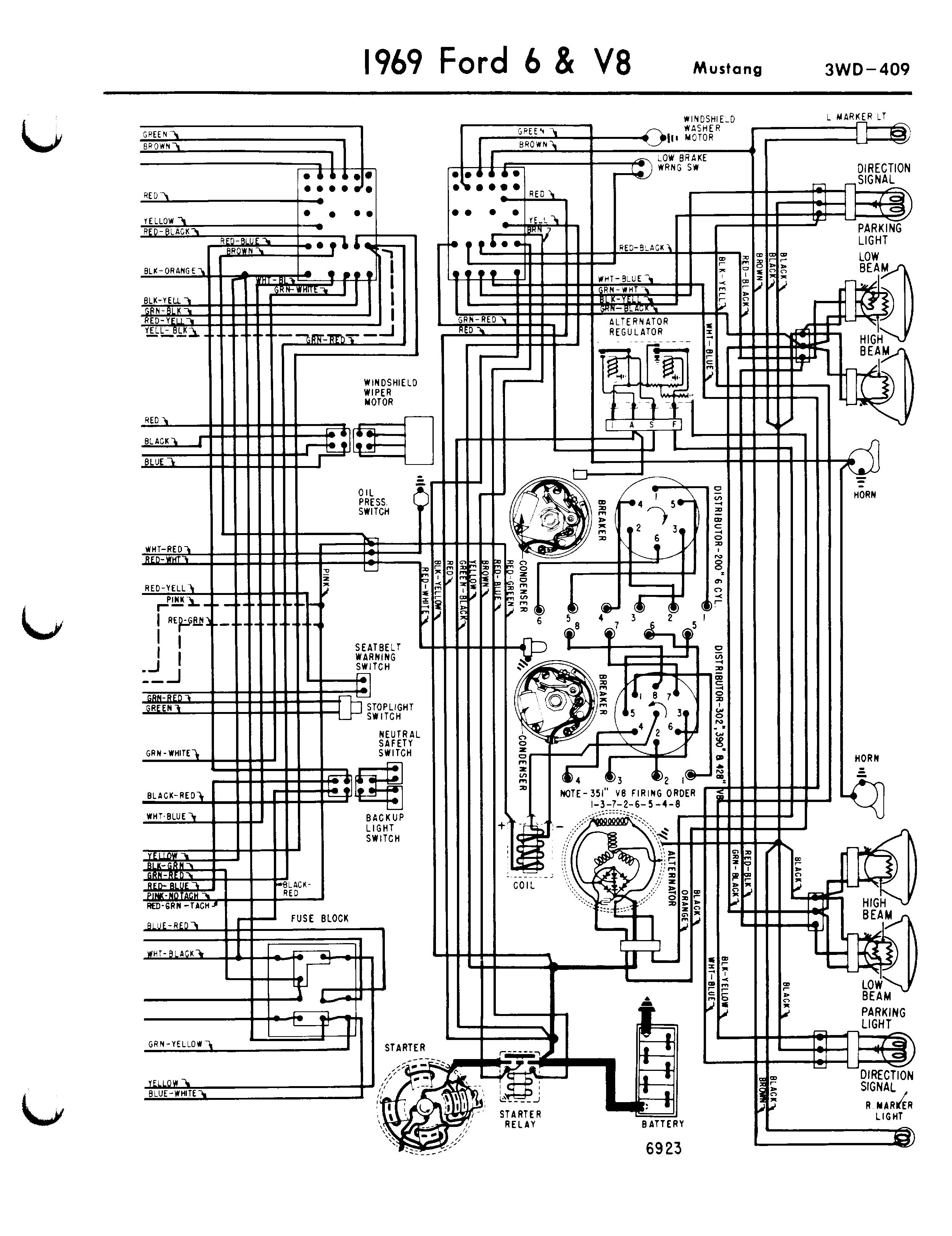 Mustangwiring Diagram on 1965 Ford F100 Wiring Diagram