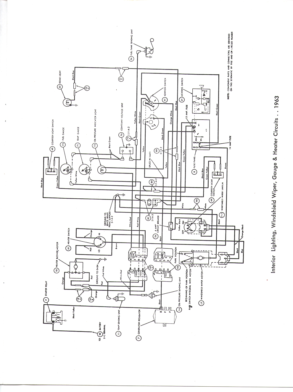 63 Falcon Wiring Diagram Manual Guide 1963 Ford Ranchero Diagrams Rh Wizard Com