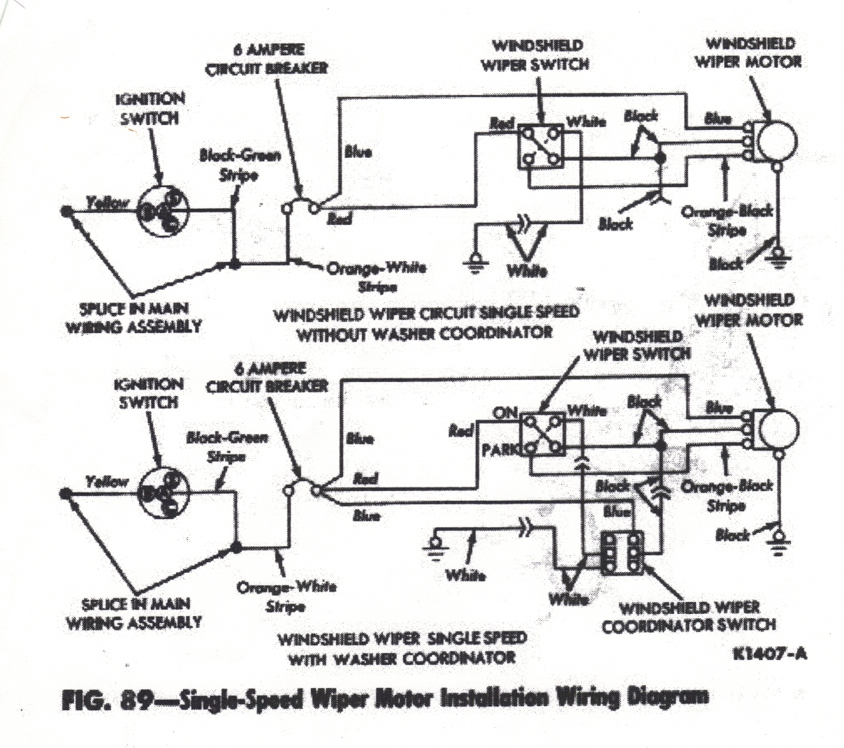 Wiper Motor Wiring Diagram Bobcat 777 Manual E Books S300 Wire