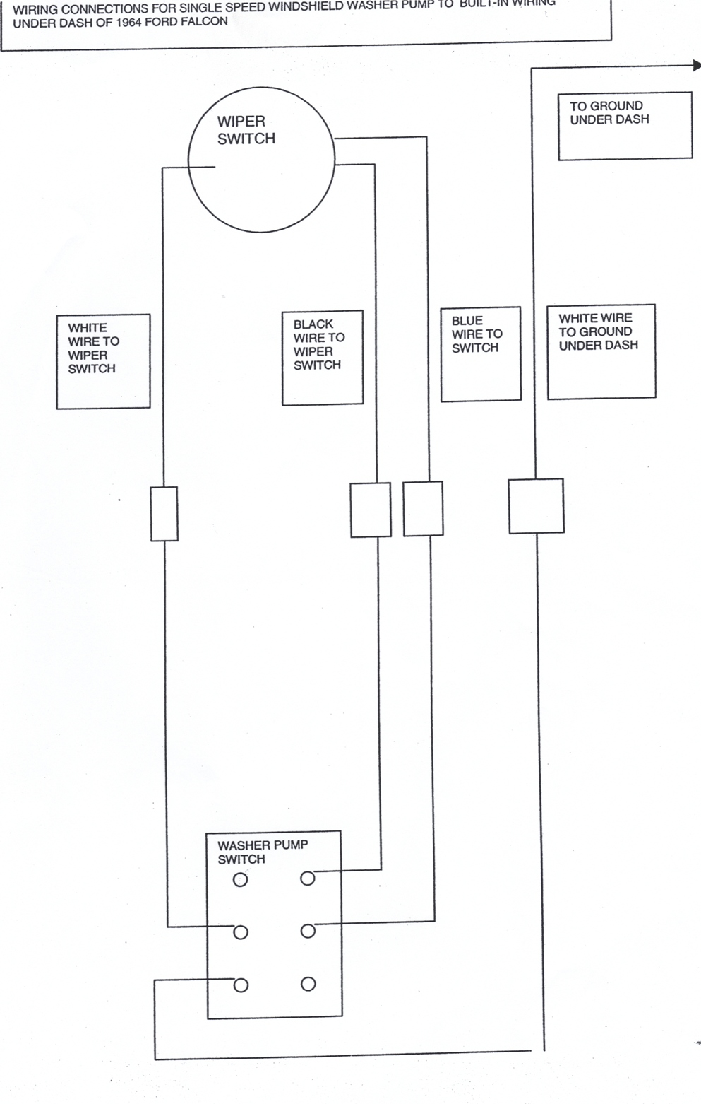 1964 Falcon Wiring Diagram Another Blog About 1965 El Camino Comet Ford F100 Ignition Switch