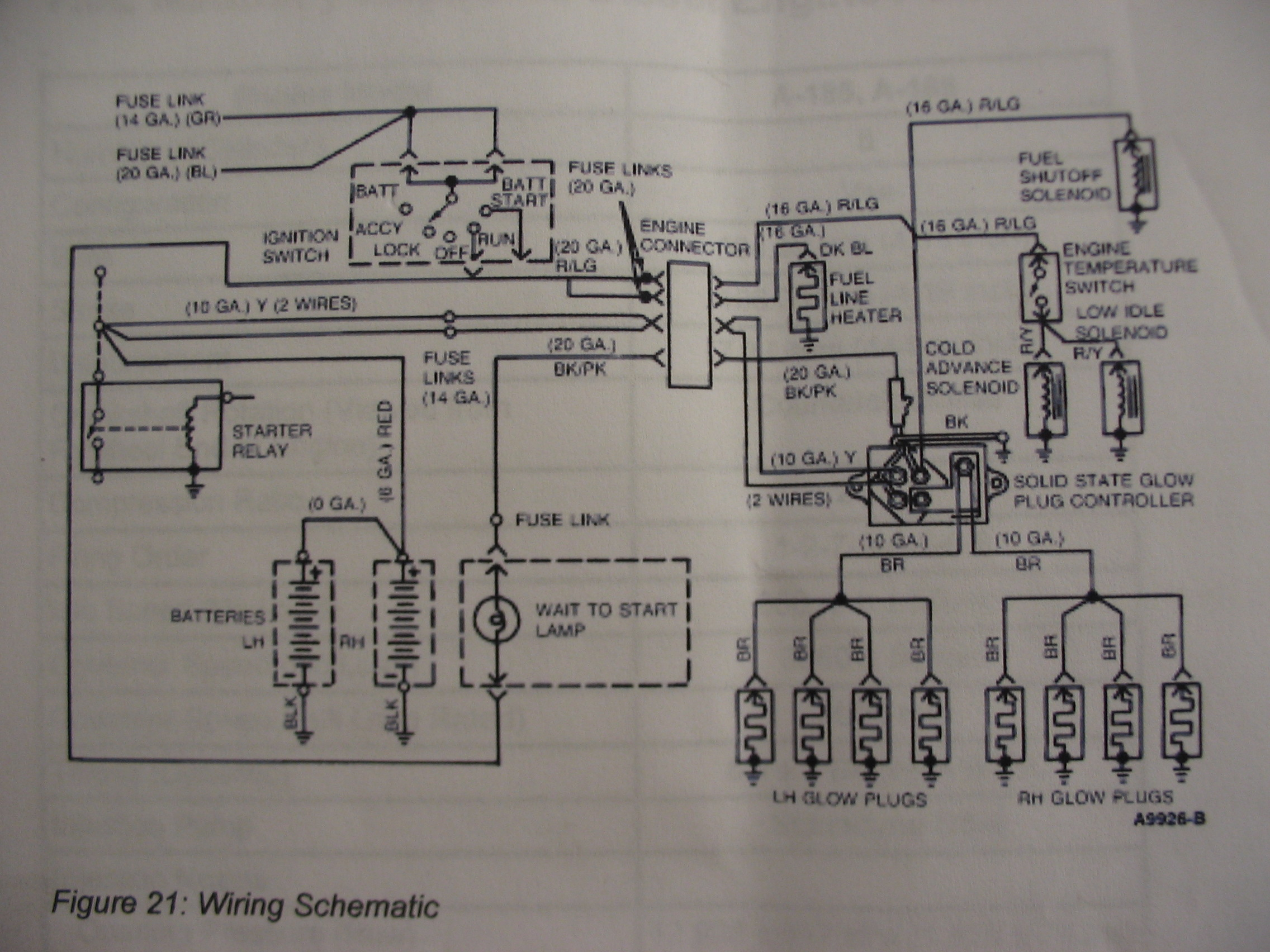 Ford Diagrams Starting Circuit Diagram For The 1955 Mercury All Models 91 Glow Plug Wiring